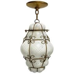 Set of Murano Glass Lanterns.  Sold Individually