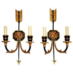Set of Neo-Classic Style Sconces, Sold Per Pair