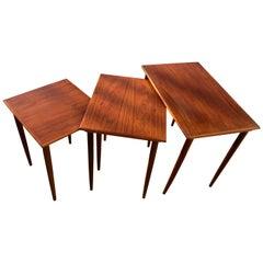 Set of Nesting Tables in Teak, 1960s
