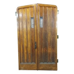 Set of Oak Tudor Style Doors