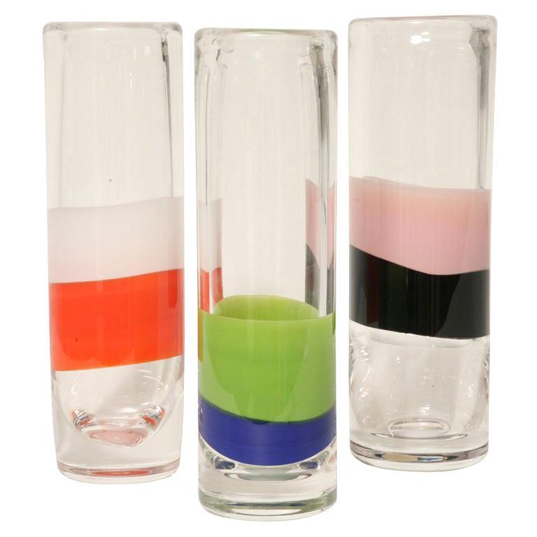 Set of Orrefors Vase's For Sale