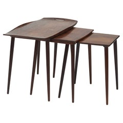 Set of Palisander Nesting Tables by Jens H. Quistgaard