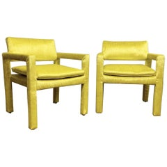 Set of Parsons Chairs by Milo Baughman