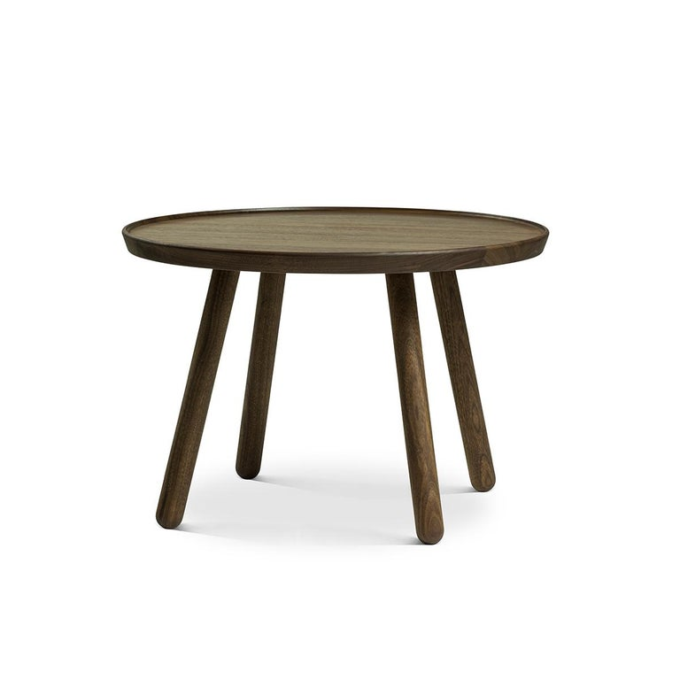 Modern Set of Pelican Chair in Wood and Fabric and Pelican Table by Finn Juhl For Sale