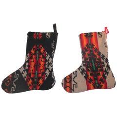 Set of Pendleton Stockings, Two