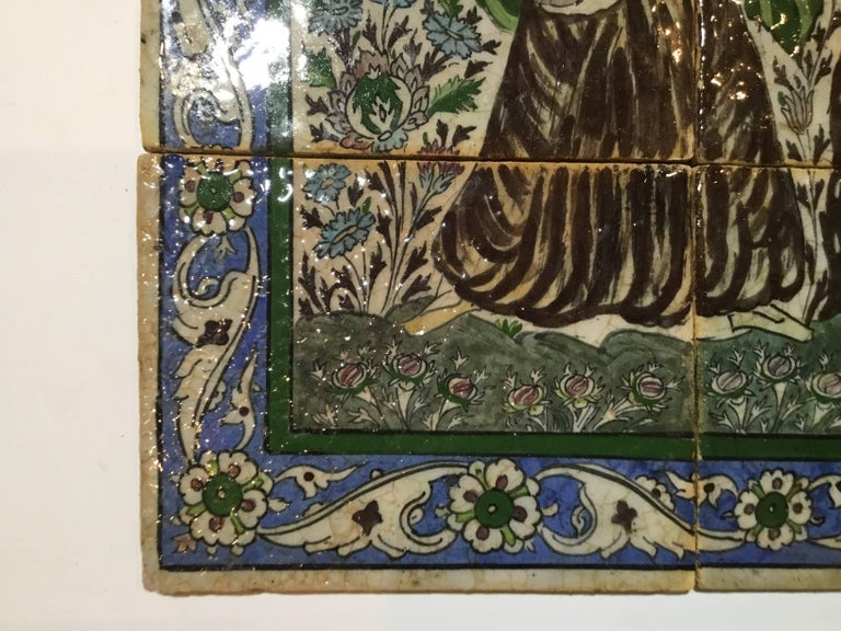 Set of Persian Tile For Sale 7