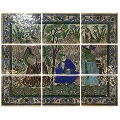Set of Persian Tile