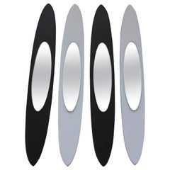 Set of Peter Pepper Surfboard Mirrors