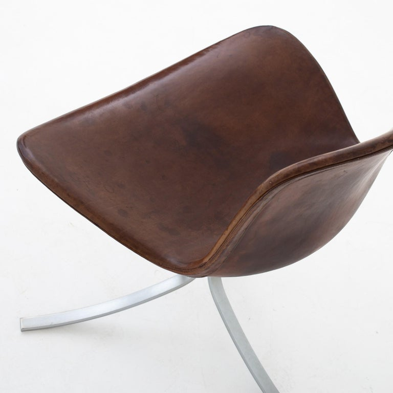 Set of PK9 Chairs by Poul Kjærholm For Sale 2