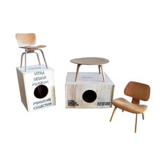 Set of Plywood miniatures by Charles & Ray Eames for Vitra, Switzerland