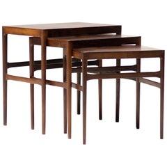 Set of Scandinavian Nesting Tables