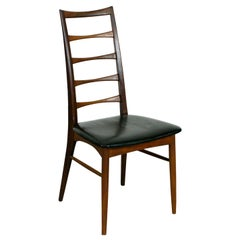 Set of Scandinavian Teak Dining Chairs Liz by N. Koefoeds for Hornslet, Denmark