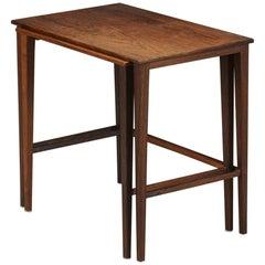 Set of Scandinavian Midcentury Nesting Tables