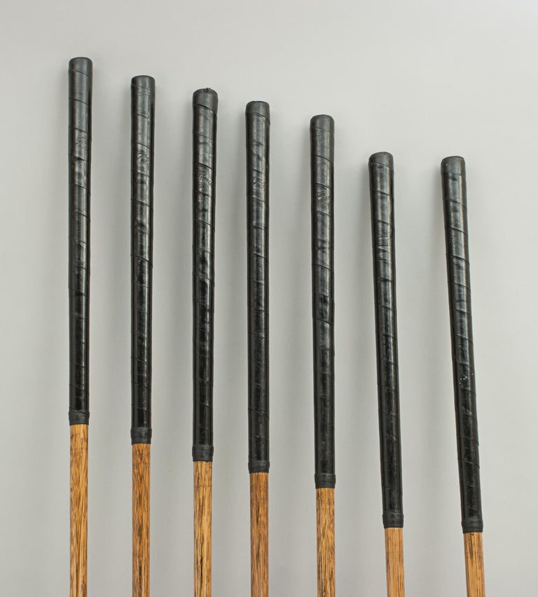 Set of Scottish Vintage Golf Clubs by Nicoll of Leven For Sale 5