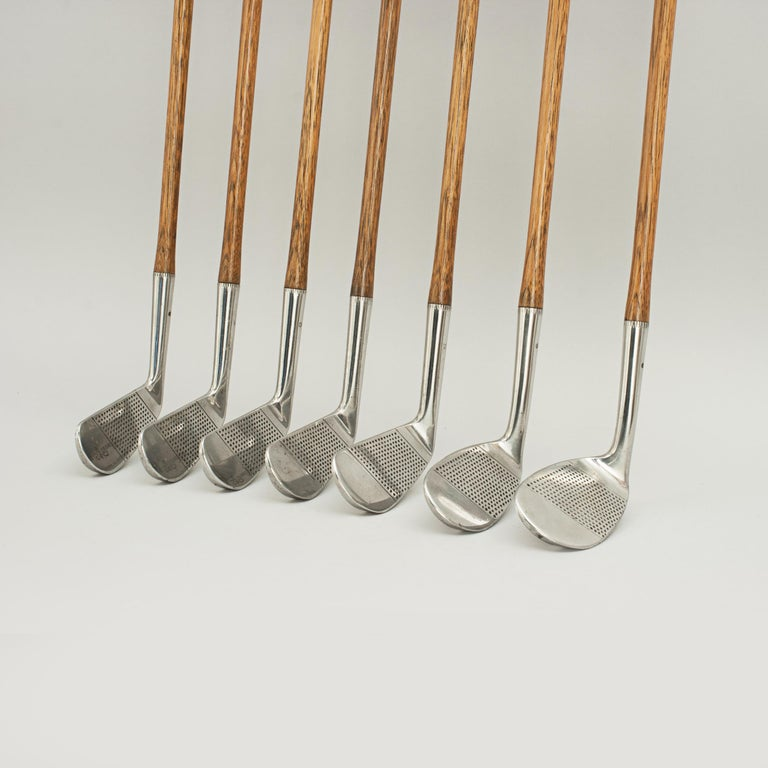 Set of Scottish Vintage Golf Clubs by Nicoll of Leven For Sale 7