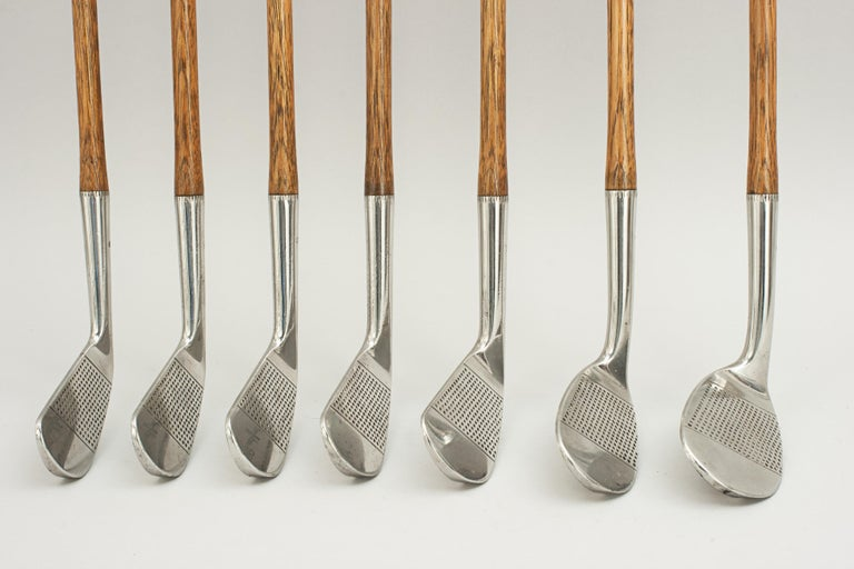Early 20th Century Set of Scottish Vintage Golf Clubs by Nicoll of Leven For Sale