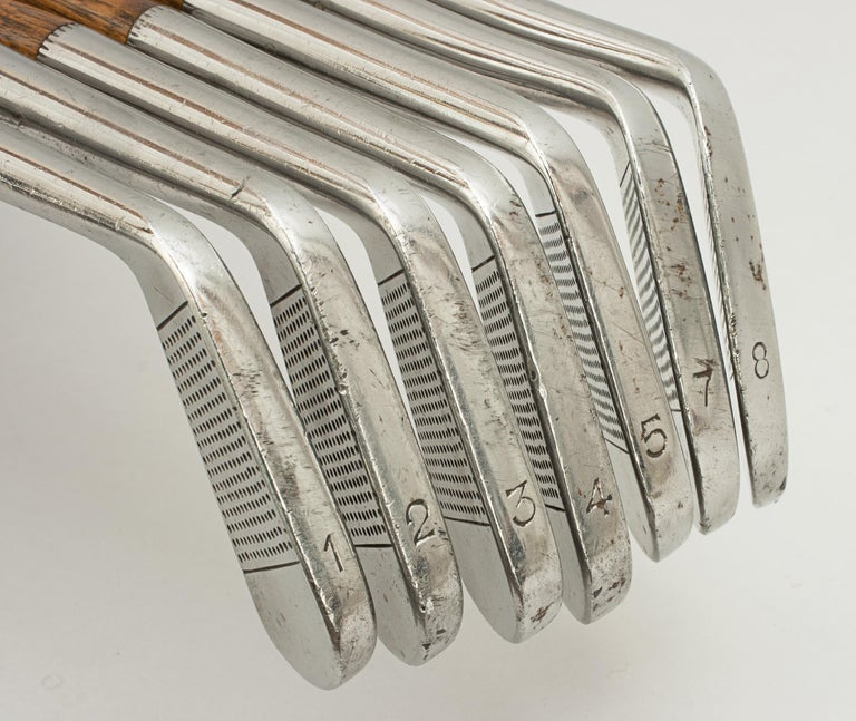 Set of Scottish Vintage Golf Clubs by Nicoll of Leven For Sale 4