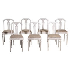Set of Seven Chairs, 20th C