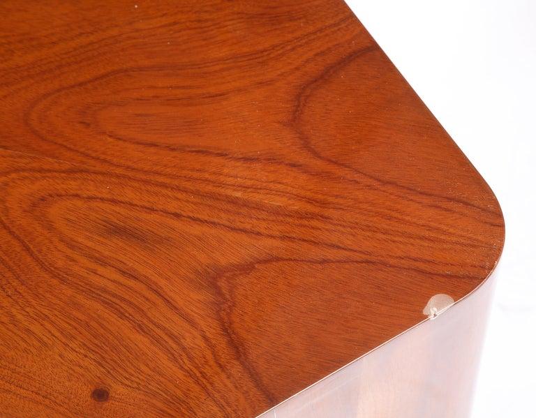 Set of Seven Petal-Form Side Tables, Designed by Juan Montoya, Modern For Sale 8