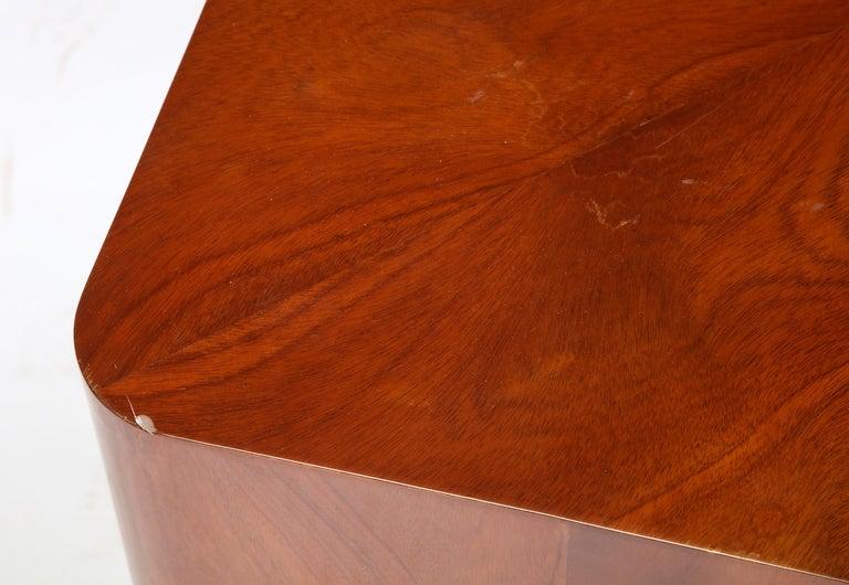 Set of Seven Petal-Form Side Tables, Designed by Juan Montoya, Modern For Sale 10