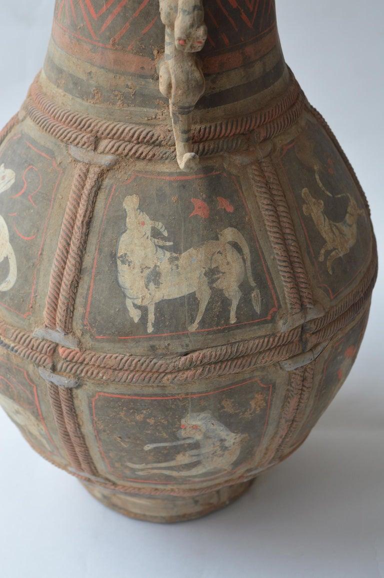 Set of Seven Zhou Dynasty Vases For Sale 4