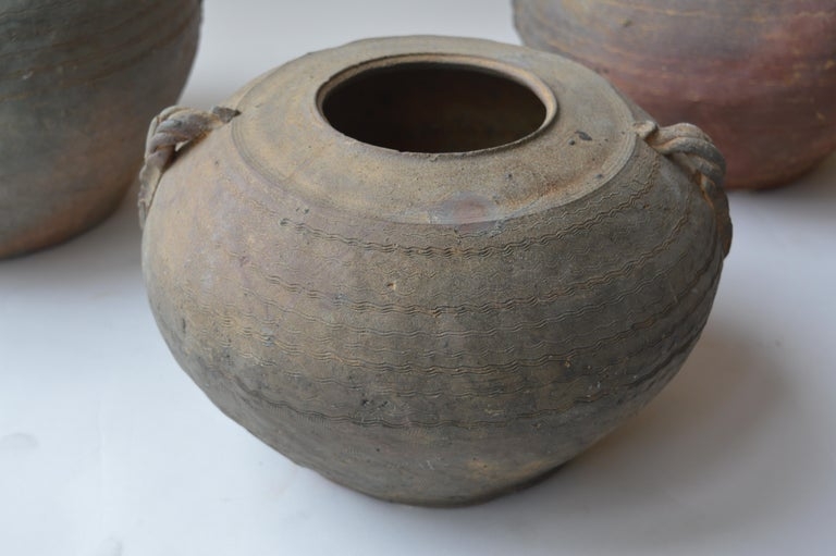 18th Century and Earlier Set of Seven Zhou Dynasty Vases For Sale