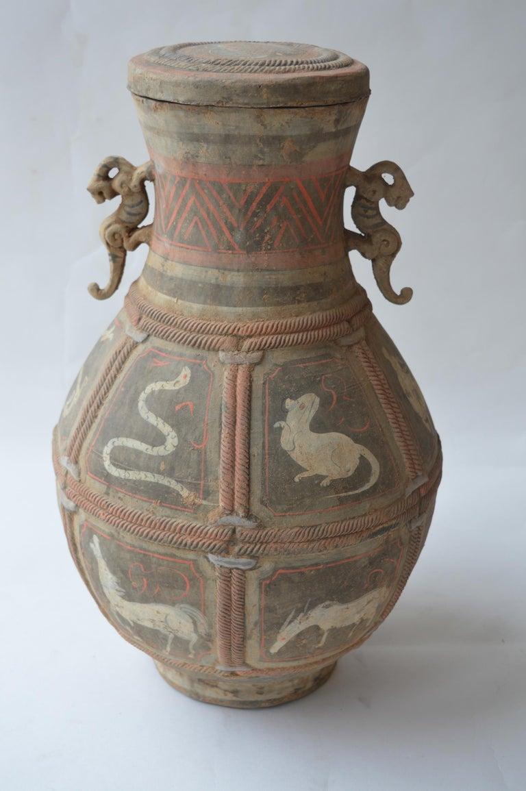 Set of Seven Zhou Dynasty Vases For Sale 1