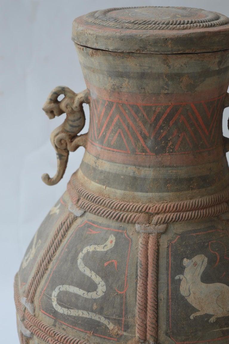Set of Seven Zhou Dynasty Vases For Sale 2