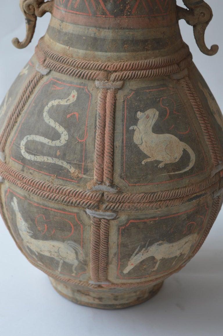 Set of Seven Zhou Dynasty Vases For Sale 3