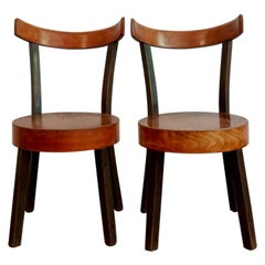 Set of Side Chairs in the Style of Lajos Kozma from Szek Es Faarugyar Rt, 1930s