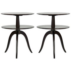 Set of Side Tables by Paul Frankl for Brown Saltman, circa 1950s