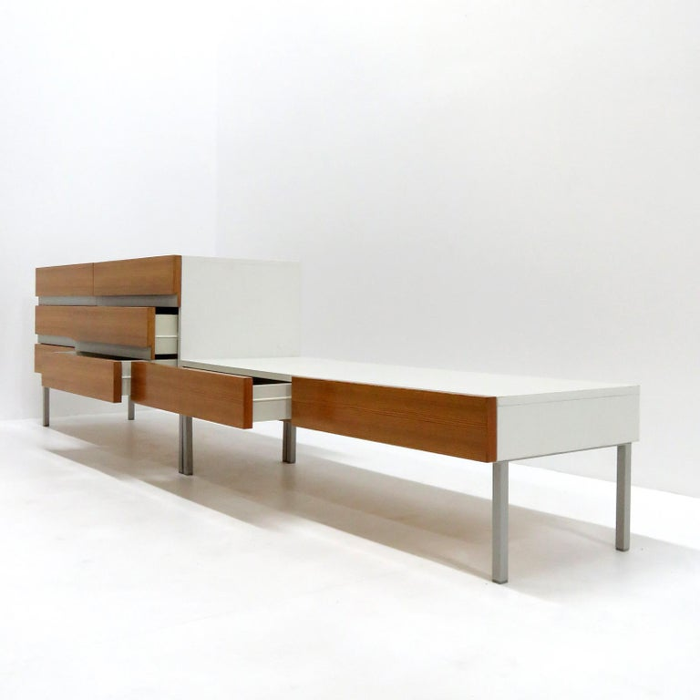 Set of Sideboards by Interlübke, Germany, 1970 In Good Condition For Sale In Los Angeles, CA