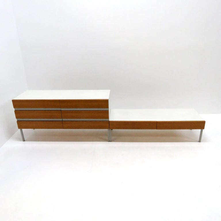 Late 20th Century Set of Sideboards by Interlübke, Germany, 1970 For Sale