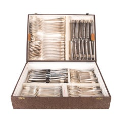 Set of Silver Plated Cutlery in a Box