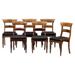 Set of Six 19th Century Danish Dining Chairs