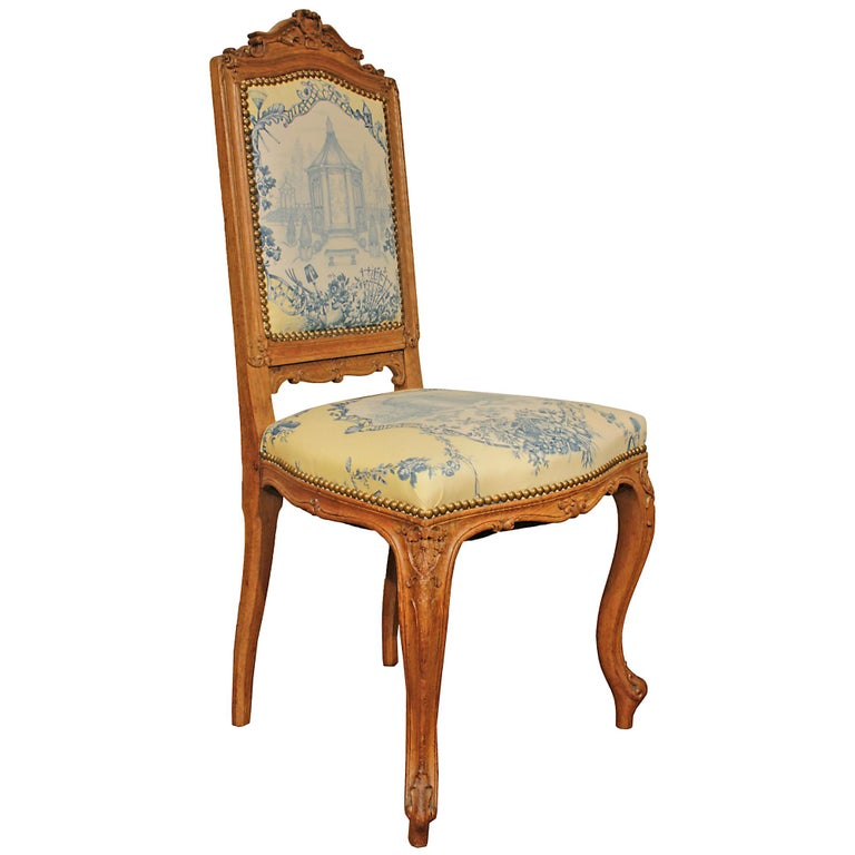 Set of Six 19th Century High Back French Louis XVI Style Carved Dining Chairs In Excellent Condition For Sale In West Palm Beach, FL