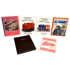Set of Six 1st Ed, Limited Ed and Signed Books on Lionel Toy Trains