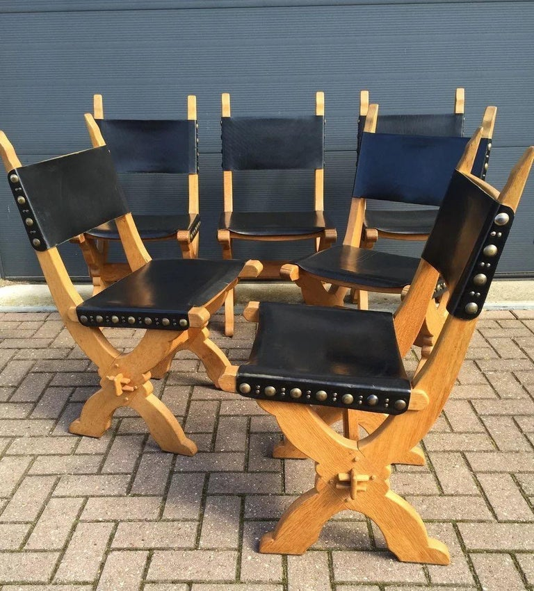 Great looking & very comfortable, vintage country style chairs.