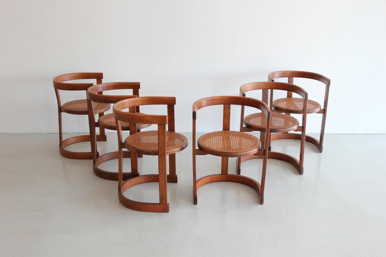 Spanish Set of Six A. G. Dining Chairs For Sale