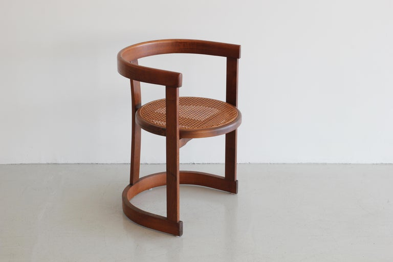 Mid-20th Century Set of Six A. G. Dining Chairs For Sale