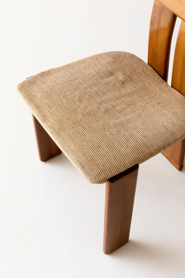 Set of six Afra and Tobia Scarpa chairs 3