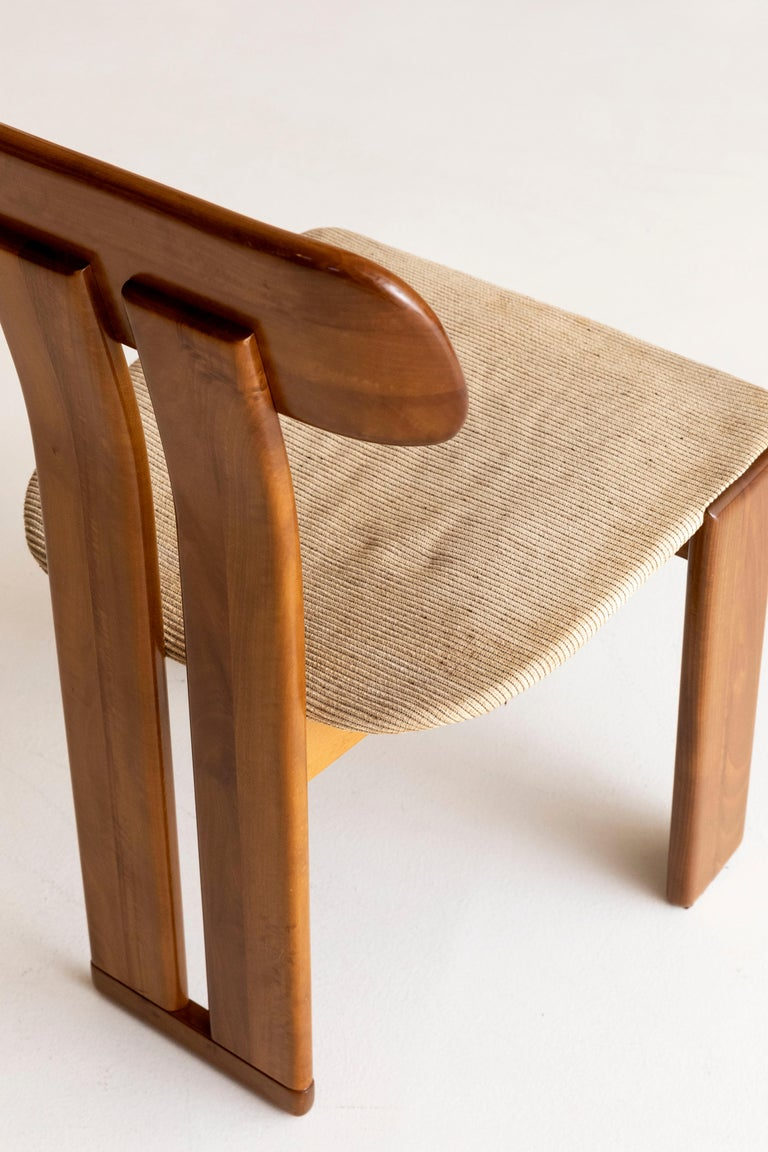 Set of six Afra and Tobia Scarpa chairs In Excellent Condition In Carpaneto Piacentino, Italy