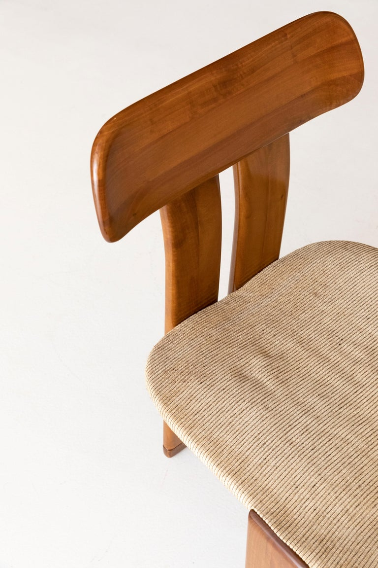 Late 20th Century Set of six Afra and Tobia Scarpa chairs