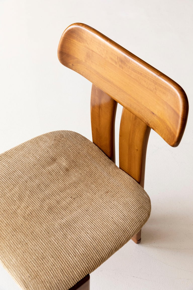Set of six Afra and Tobia Scarpa chairs 1