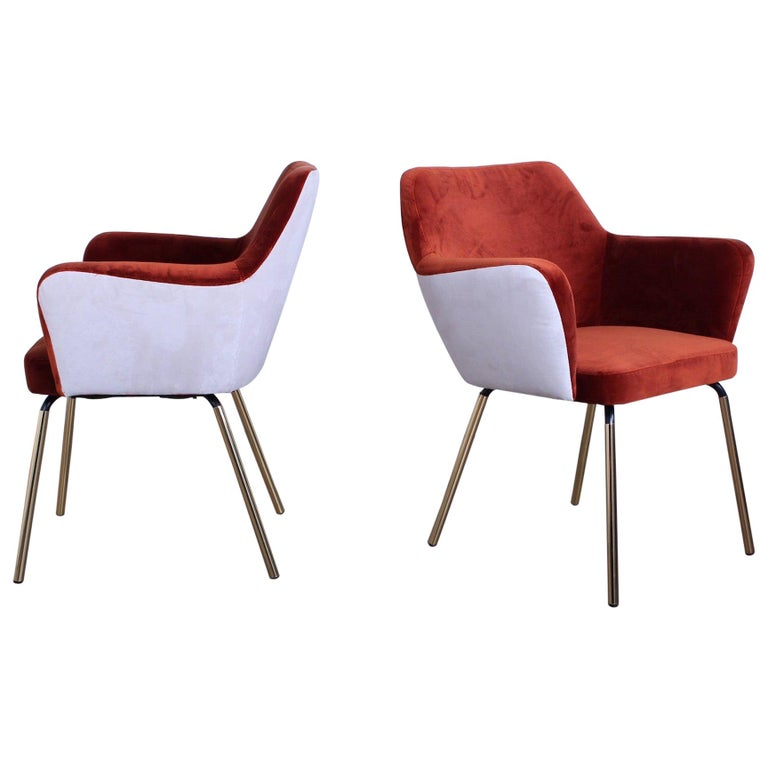 "Set of Six ""Airone"" Armchairs by Alberto Roselli for Arflex For Sale"