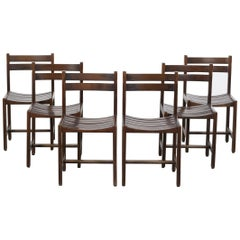 Set of Six Andre Sornay Chairs from 1960
