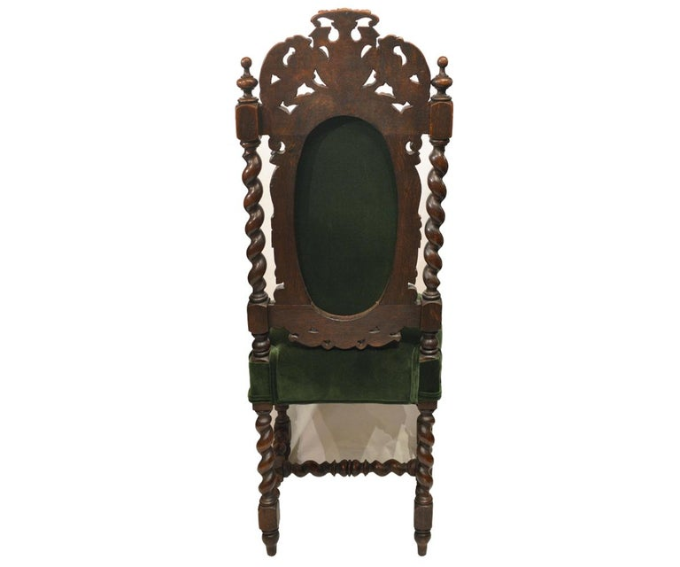 Renaissance Revival Set of Six Antique French 19th Century Chairs For Sale