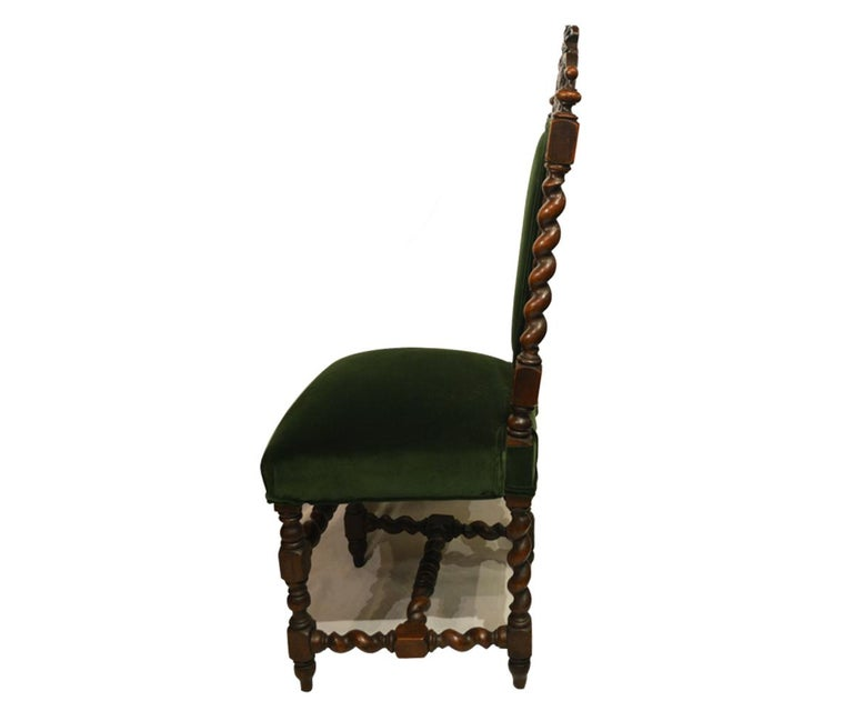European Set of Six Antique French 19th Century Chairs For Sale