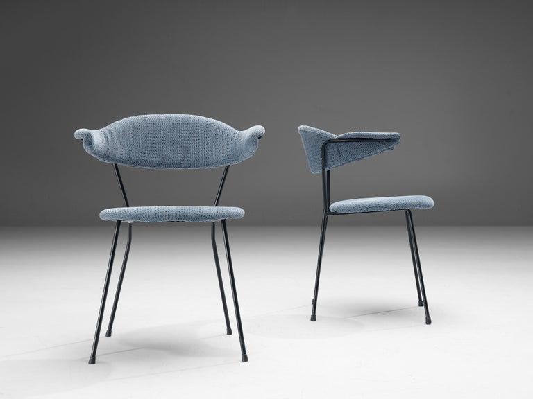 Mid-Century Modern Vittorio Chiaia and Massimo Napolitano for Arflex Set of Six Armchairs For Sale