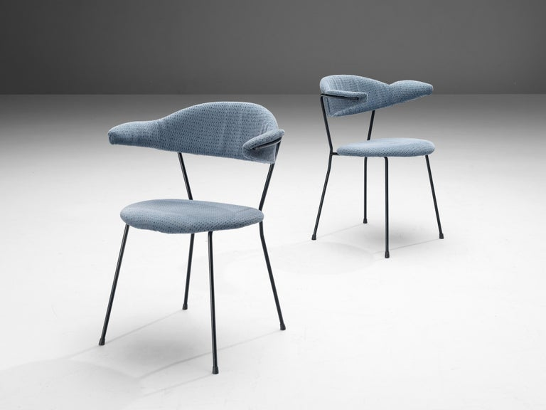 Vittorio Chiaia and Massimo Napolitano for Arflex Set of Six Armchairs In Good Condition For Sale In Waalwijk, NL
